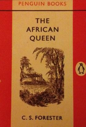The African Queen original Penguin cover design.