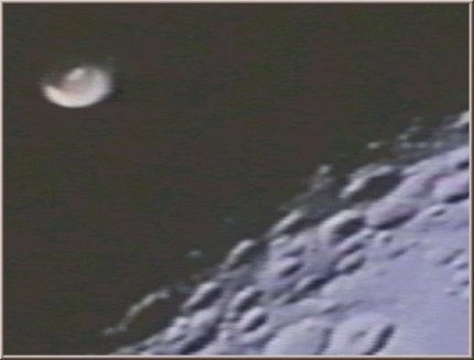 NASA UFO in Space