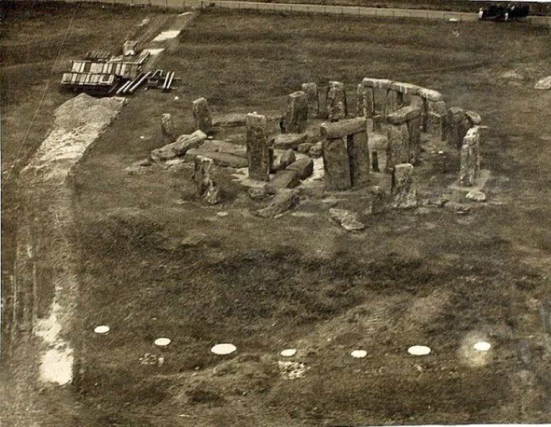 Post-WW1 aerial photograph before 1960s reconstruction. Image credit: Wikipedia