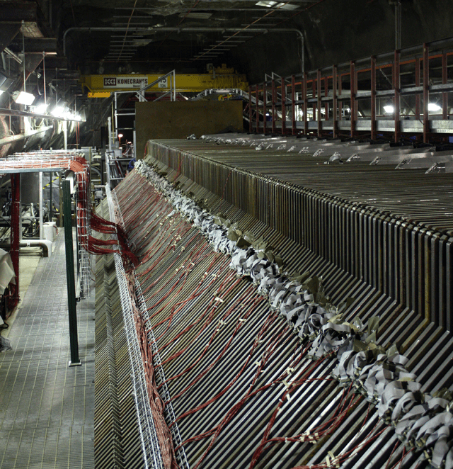 At Fermilab, they know detectors only have a small chance of seeing neutrinos—so they build lots of detectors.