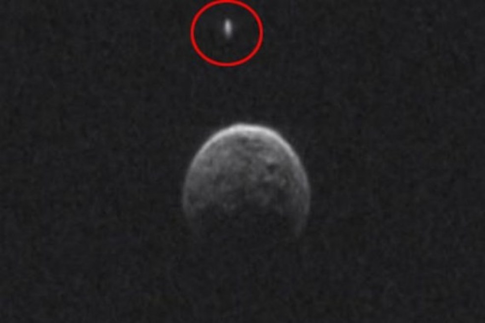 The first image of Asteroid BL86 and the object orbiting it