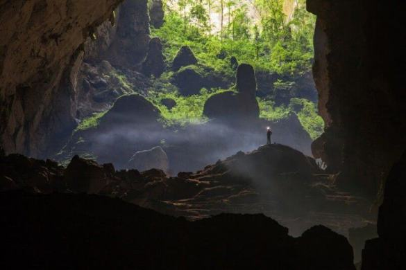 Son Doong cave is World's largest cave, discovered in 2009 9