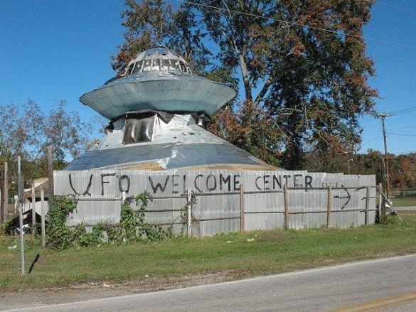 The UFO Welcome Center: A Place to Rest for Aliens in Bowman, South Carolina 4