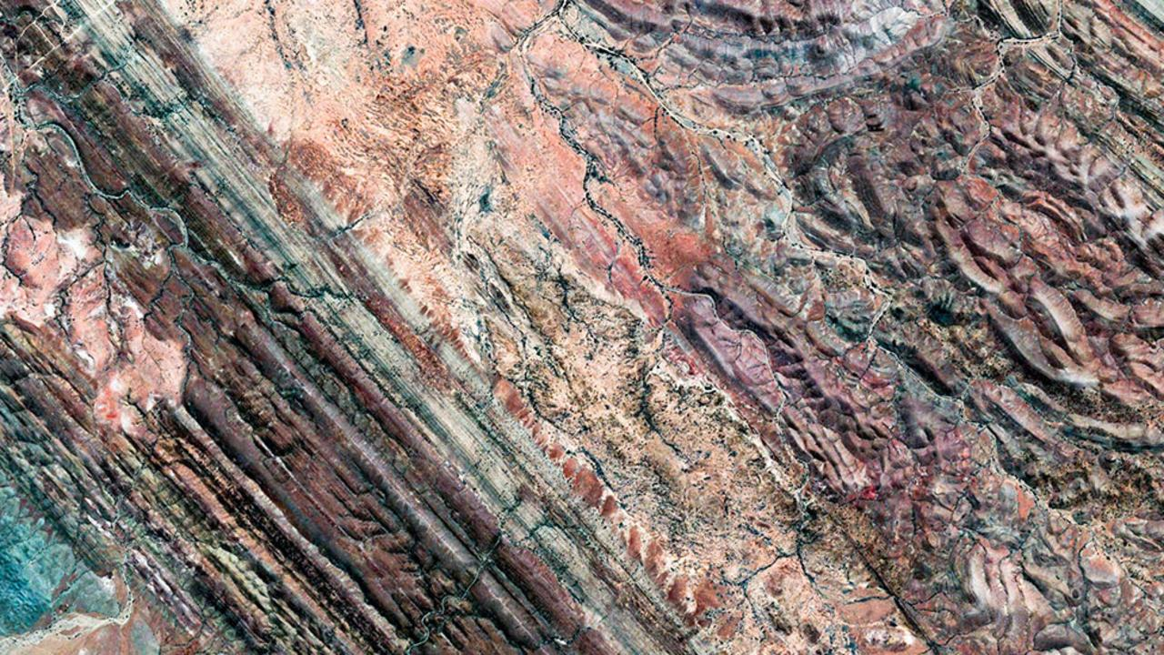 Andamooka is known for its opal mining (Credit: Google Earth)
