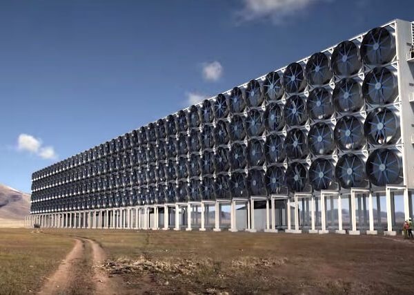 Giant Fans Will Soon Suck Co2 Out Of The Atmosphere And