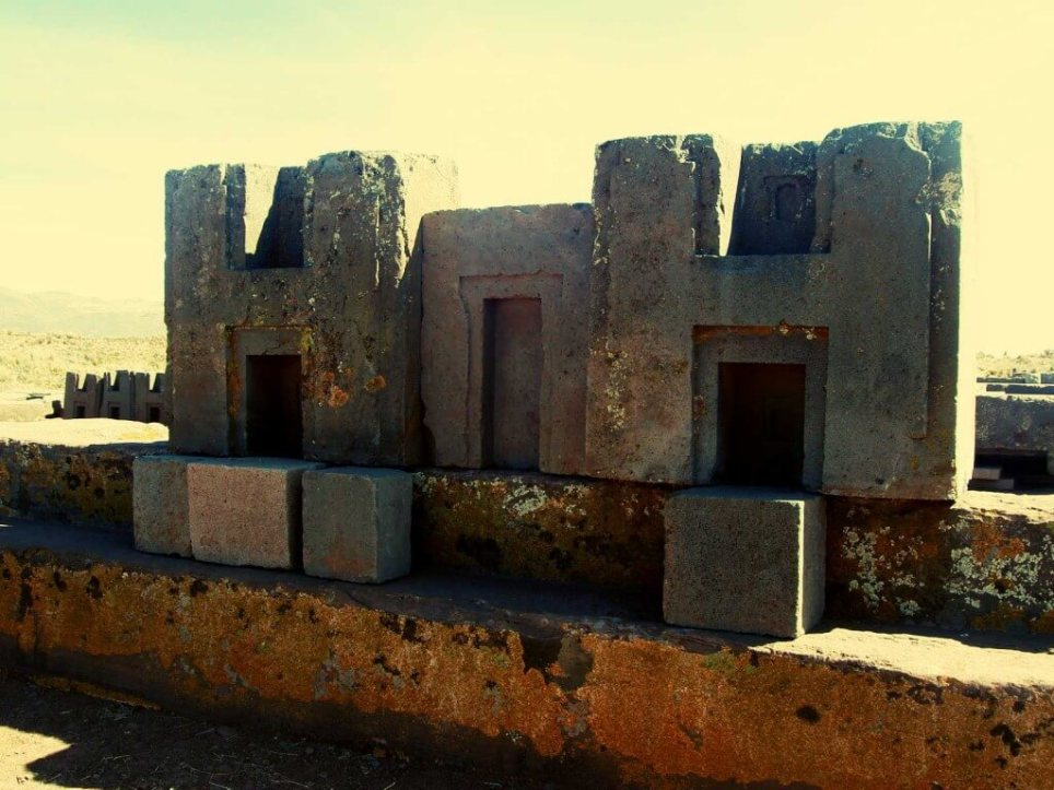 Puma Punku is one of the most important places if you want to see what ancient man was capable of. These stone structures are among the biggest ever found.