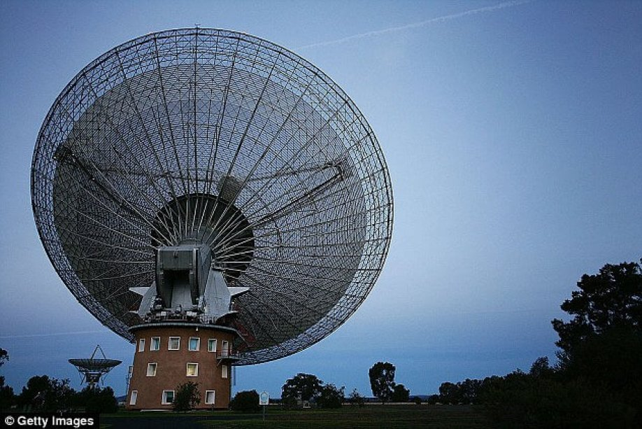 On October 4, the Breakthrough Listen team will use the Parkes Observatory in Australia to look for radio emission that differs from the natural background noise