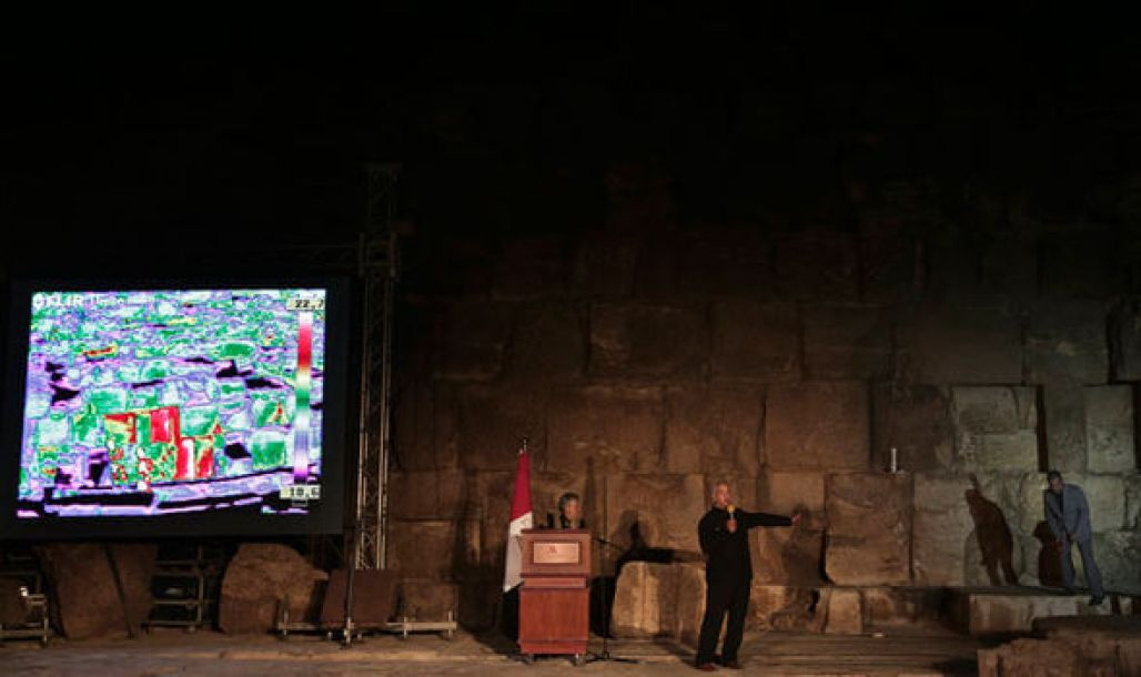 Two weeks of new thermal scanning in Egypt's Giza pyramids have identified anomalies
