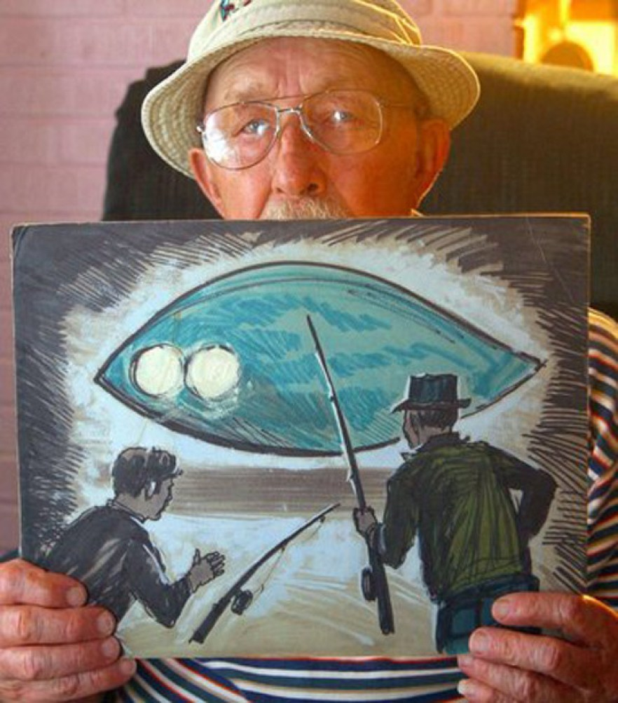 Image result for The Pascagoula Abductions - Hickson and Harder Interview - Alien UFO