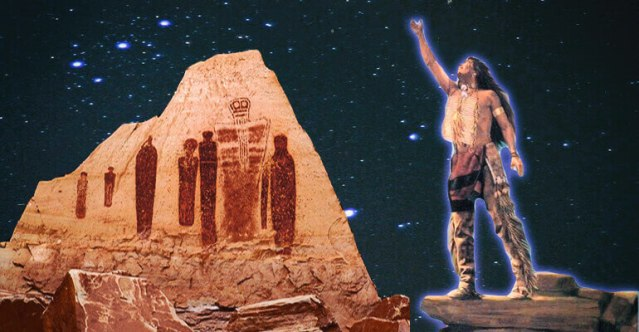'Star People' and 'Flying Shields' Are Familiar Notions Inside Native American Tribes