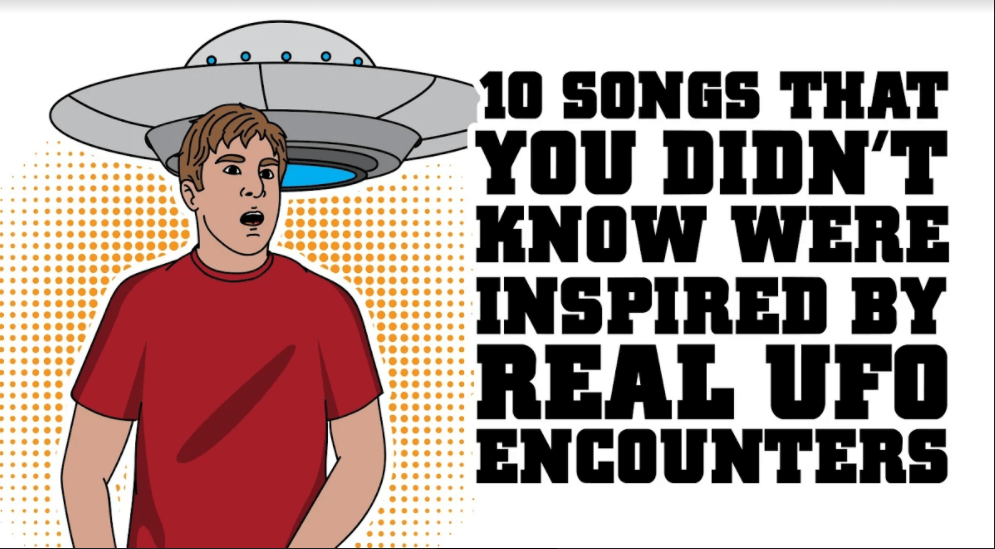 10 Songs That You Didn't Know Were Inspired By UFO Encounters - Alien UFO Sightings