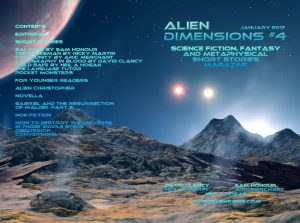 Alien Dimensions Issue 4. Science Fiction Fantasy and Metaphysical Short Stories Magazine Monthly