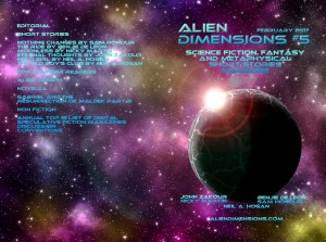 Alien Dimensions issue 5 cover