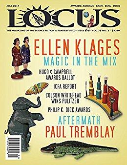 Locus Magazine May 2017