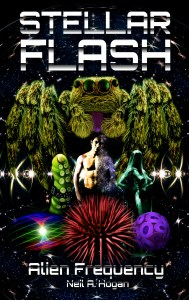 Stellar Flash Alien Frequency New Science Fiction Book