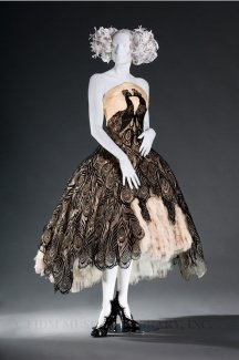 Alexander McQueen's obsession with the afterlife helped him design some amazingly elaborate dresses.