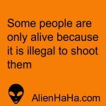 Funny Quote 61 by Alien Ha Ha