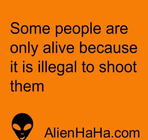 Funny Quote 61 by Alien Ha Ha