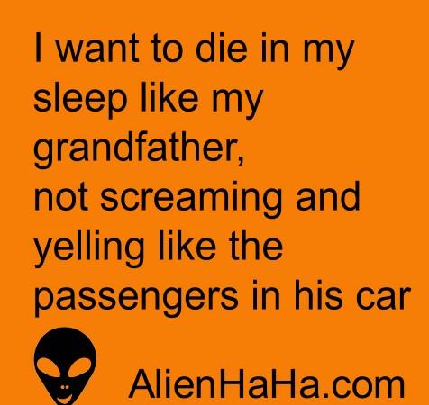 Funny Quotes 67 by Alien Ha Ha