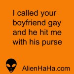 Funny Quotes 83 by Alien Ha Ha