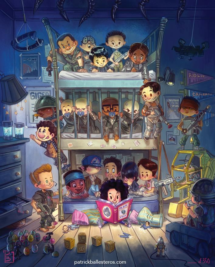 Patrick Ballesteros – Alien Saga Cast