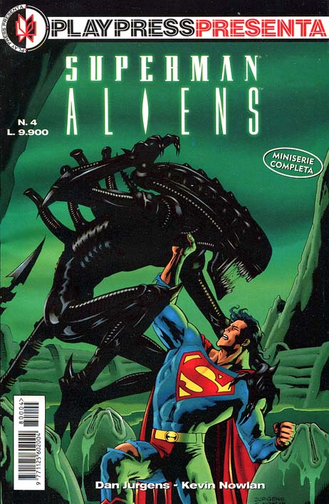 [1995-07] Superman vs Aliens
