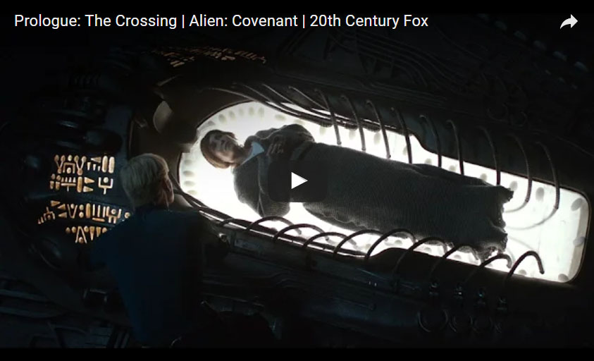 Alien: Covenant (2017) Prologo in italiano