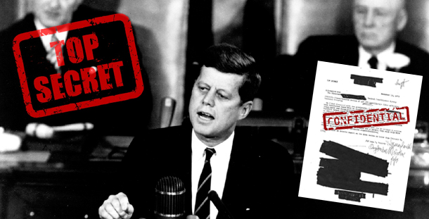 JFK assassinated by CIA over UFO documents