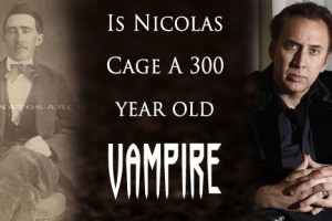 Civil War photo sparks theory that Nicolas Cage is a vampire