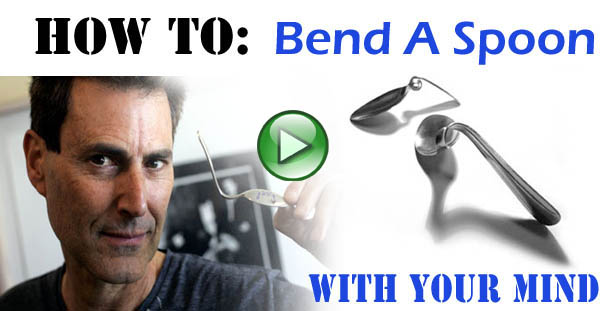 How to bend a spoon with your mind - Telekinesis