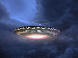 UFO IN THE CLOUDS  642