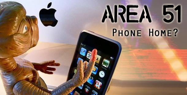 Area 51 phone home