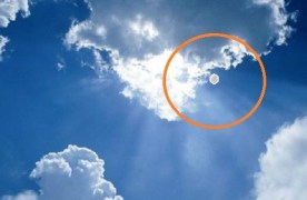 Strange object over 9/11 ceremony in New Jersey