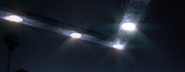 Chevron shaped alien craft over Michigian