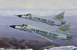 Airforce F-102's Chase UFO over Oregon
