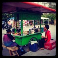 Cart cafe.