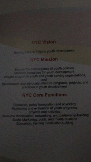 NYC Vision, Mission & Core Functions