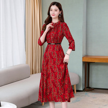Korean Women Dress Women Print