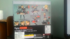 Back side of the package with some pictures of its pose