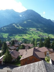 View from Adelboden (Switzerland)