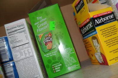 Cupboard greens