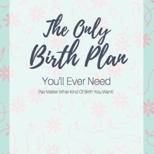 birth plan, birth plan template, simple birth plan, easy birth plan, visual birth plan