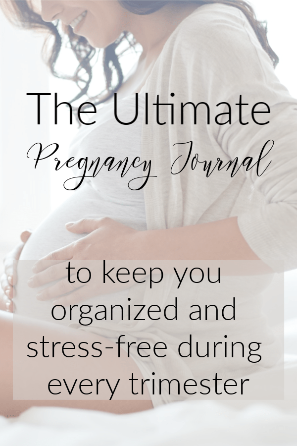This printable pregnancy journal is everything you will need in a pregnancy planner. This pregnancy journal has everything you need to prepare for pregnancy including checklists, to-do lists for each trimester of pregnancy, a 24 month calendar AND SO MUCH MORE. Get this Pregnancy Journal PDF and start tracking your pregnancy today. #pregnancyjournal #pregnancyplanner #pregnancyworkbook