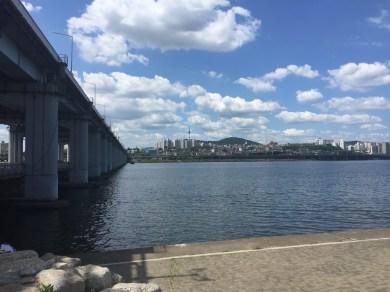 Jamsu Bridge, Seoul - 27th June