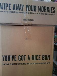 you've got a nice bum