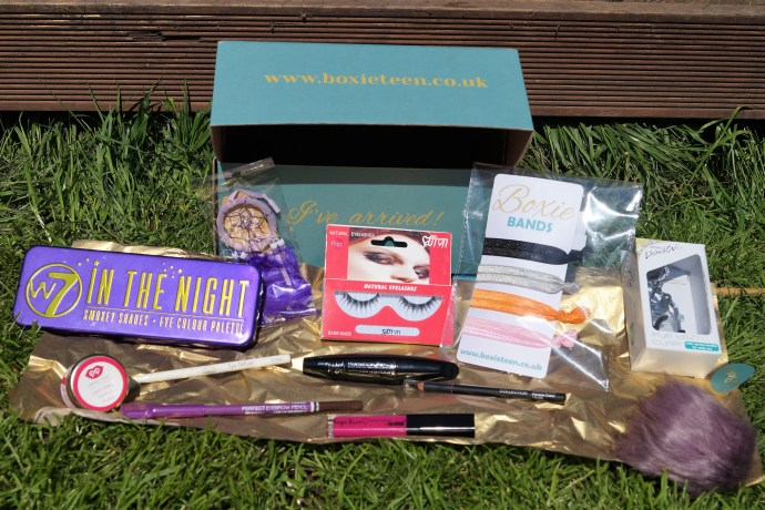 Boxie contents