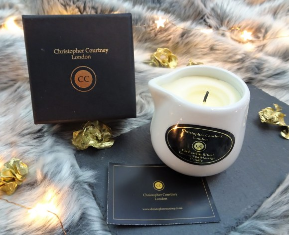 Christopher Courtney London massage candle