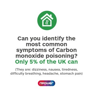 CO poisoning symptoms