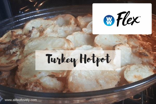 Weight Watchers Flex turkey hotpot