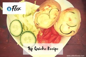 Yummy Quiche Recipe – Weight Watchers Friendly – 1SP each!